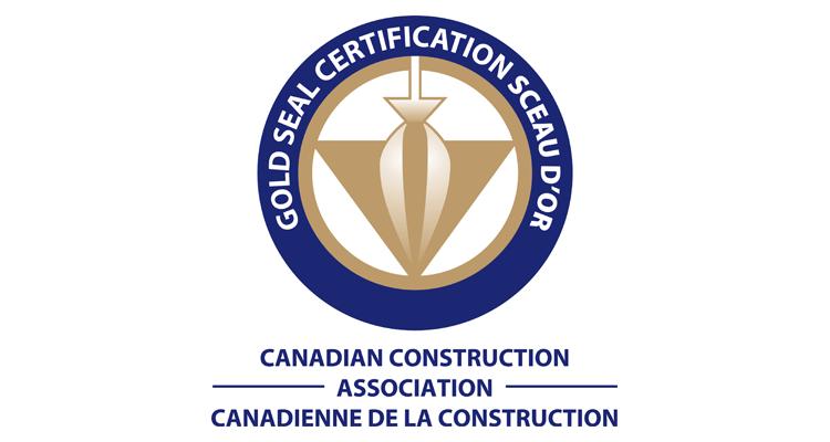 Canadian Construction Association Gold Seal