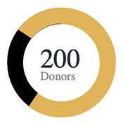 200 Organization Donors