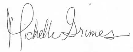 Michelle Grimes Signature