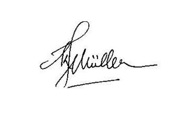 Keith Muller Signature